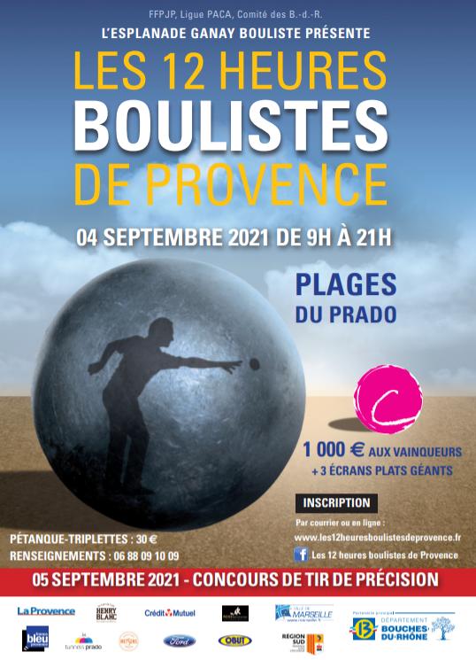 12 heures boulistes de Provence